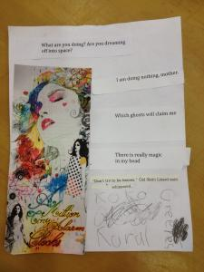 Collage Poem at Monarch Poetry Fair